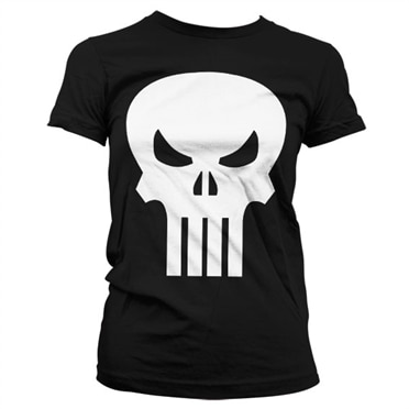 Marvel Comics - The Punisher Skull Girly T-Shirt