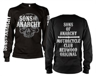 eab7321f Sons Of Anarchy Motorcycle Club Long Sleeve T-Shirt