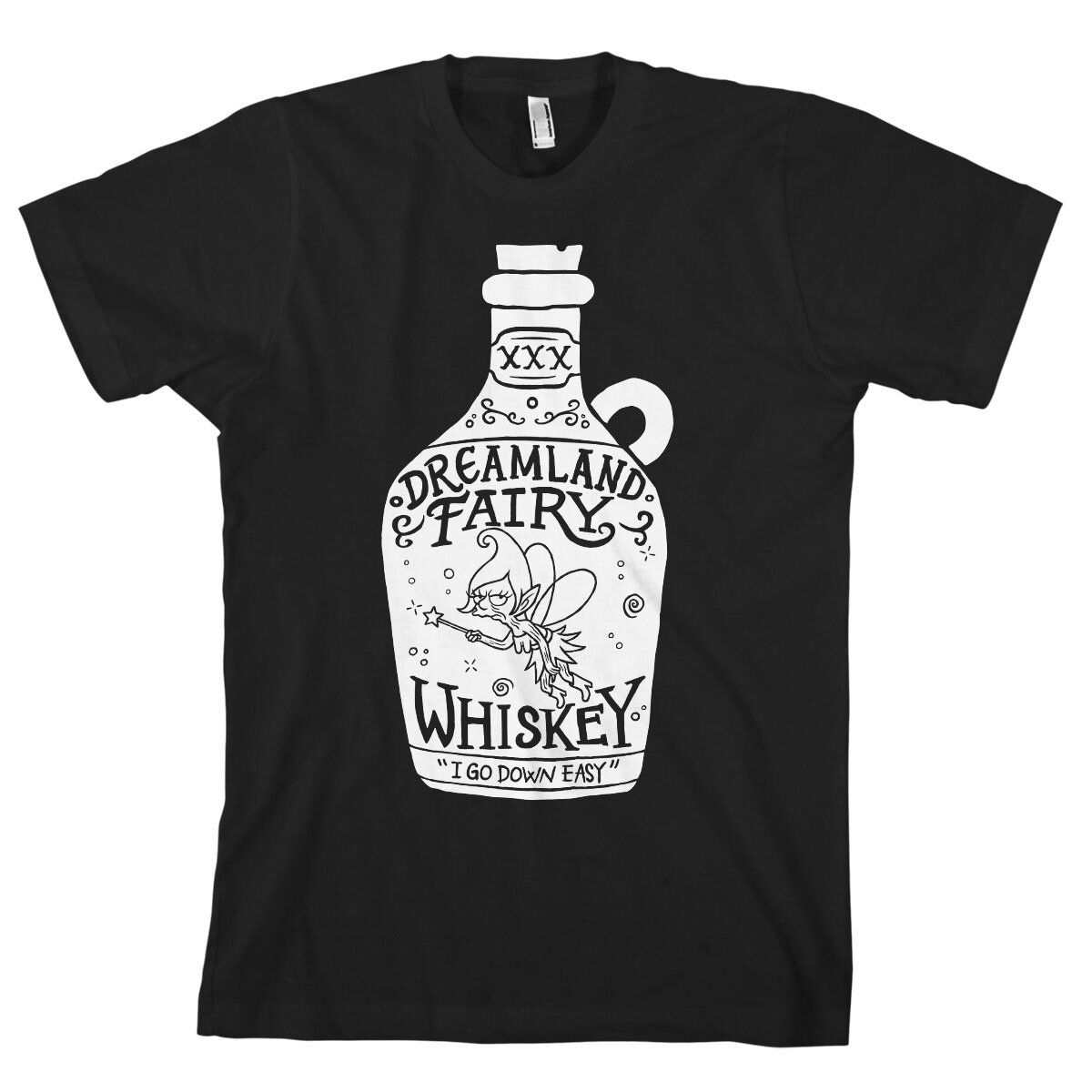 Dreamland Fairy Whiskey T-Shirt