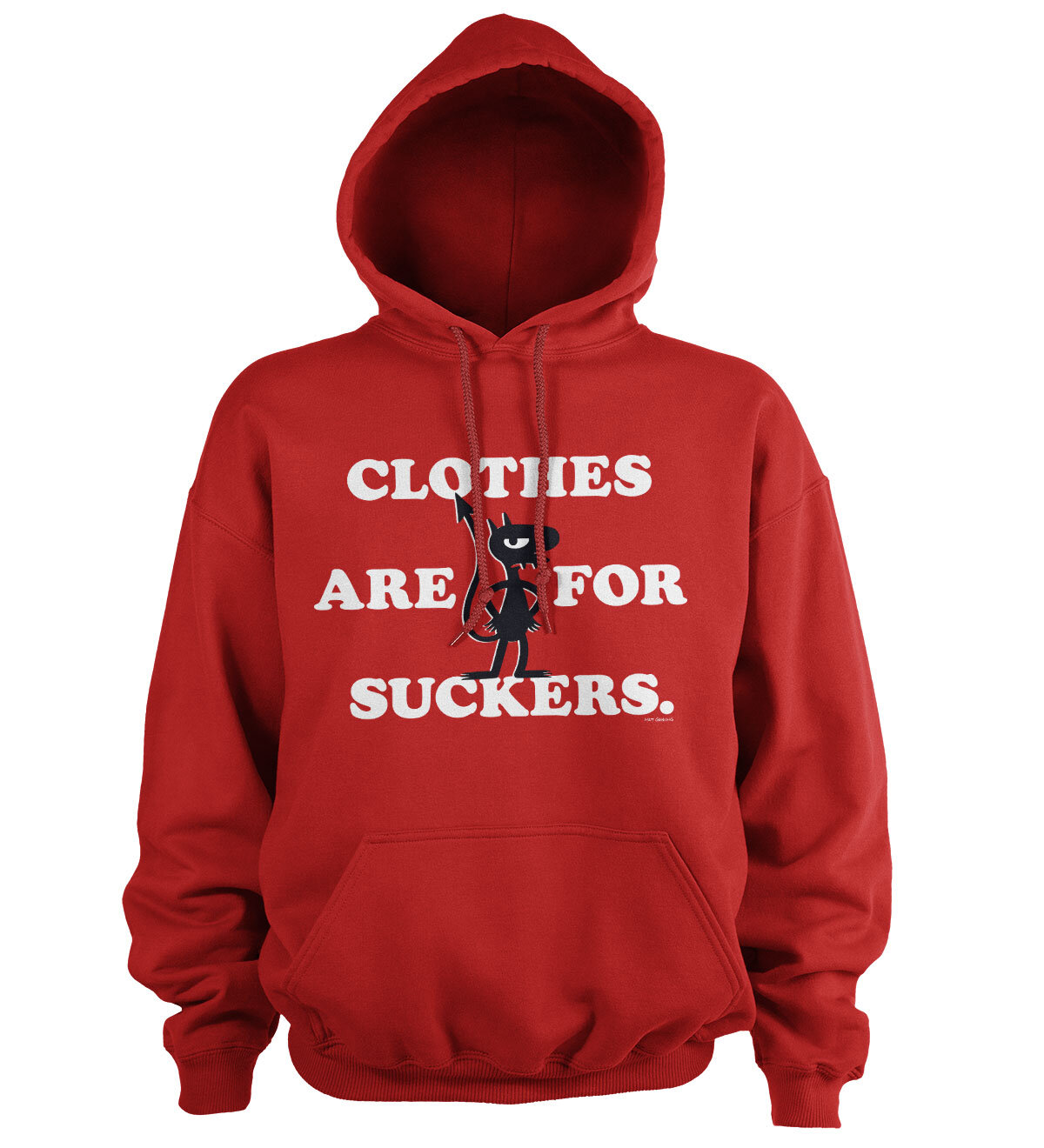 Luci - Clothes Are For Suckers Hoodie