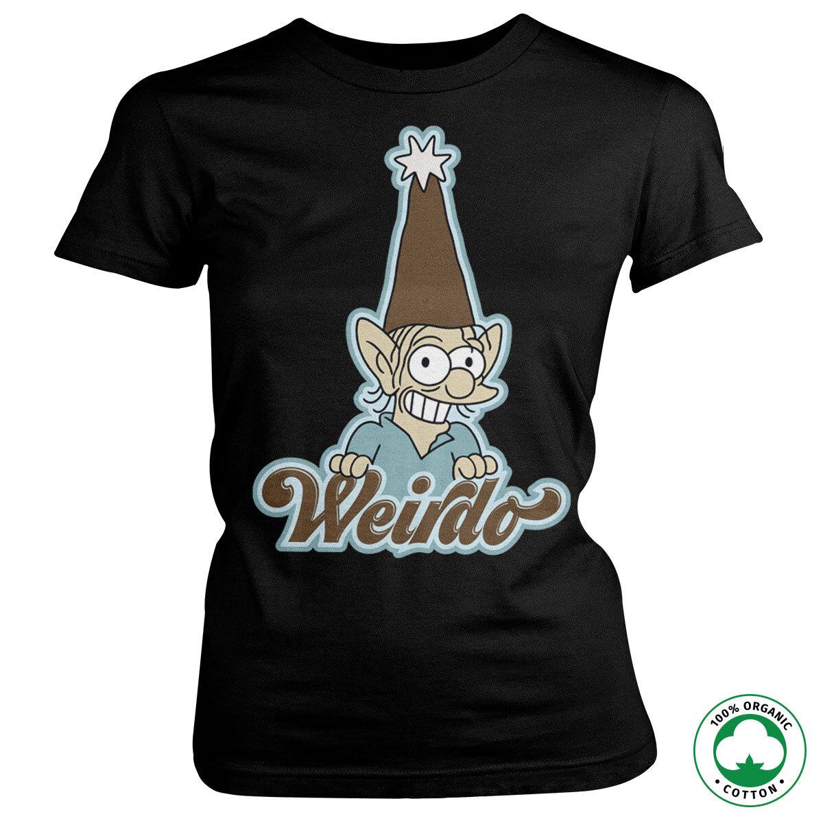 Weirdo Girly Organic Tee