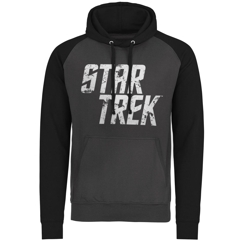 Star Trek Distressed Logo Baseball Hoodie