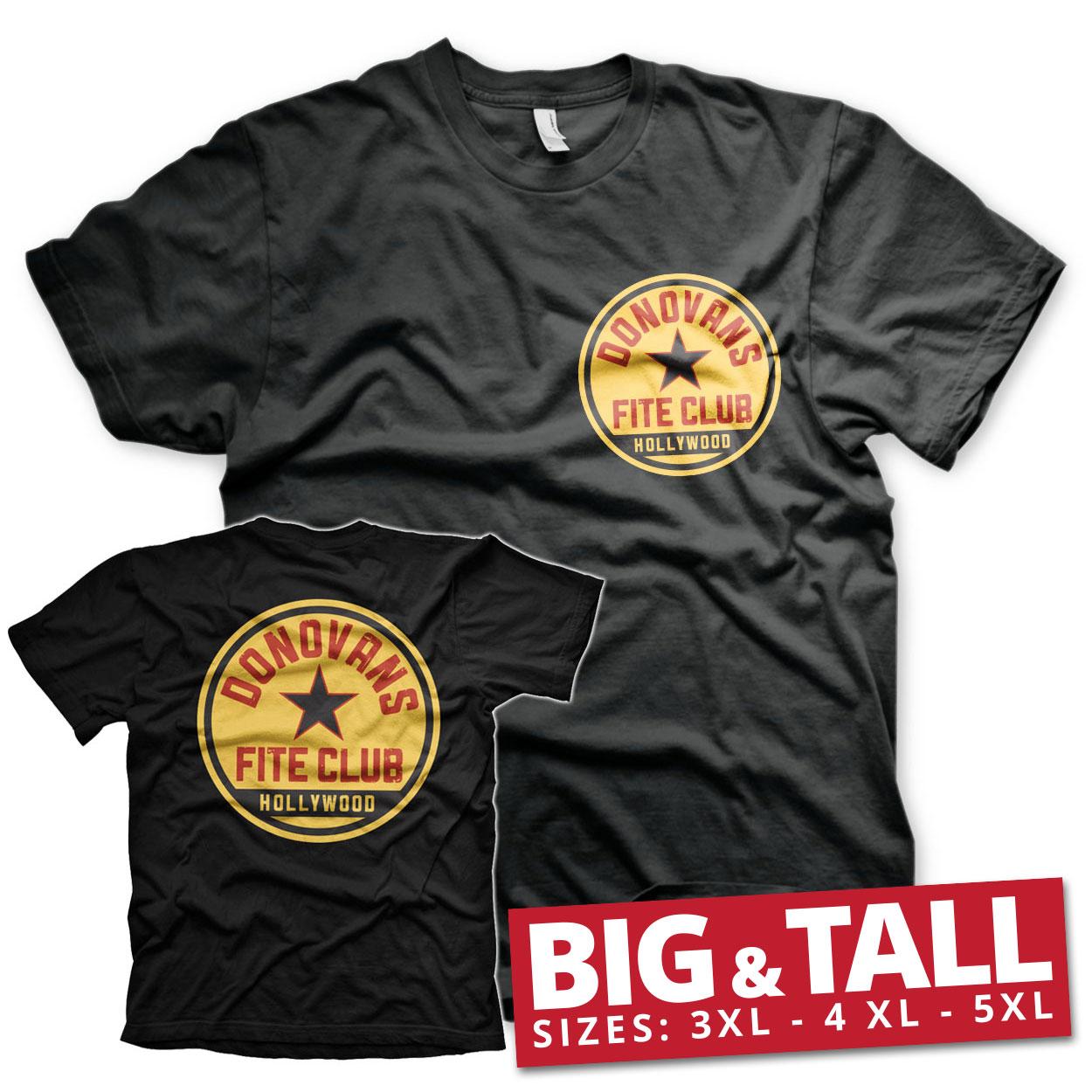 Donovans Fite Club Big & Tall T-Shirt