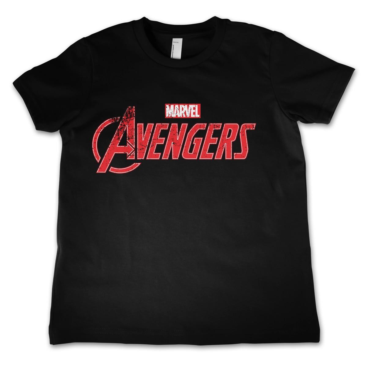 The Avengers Distressed Logo Kids T-Shirt