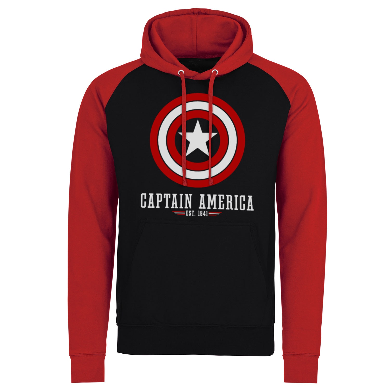 Marvel Comics - Captain America Logo Baseball Hoodie