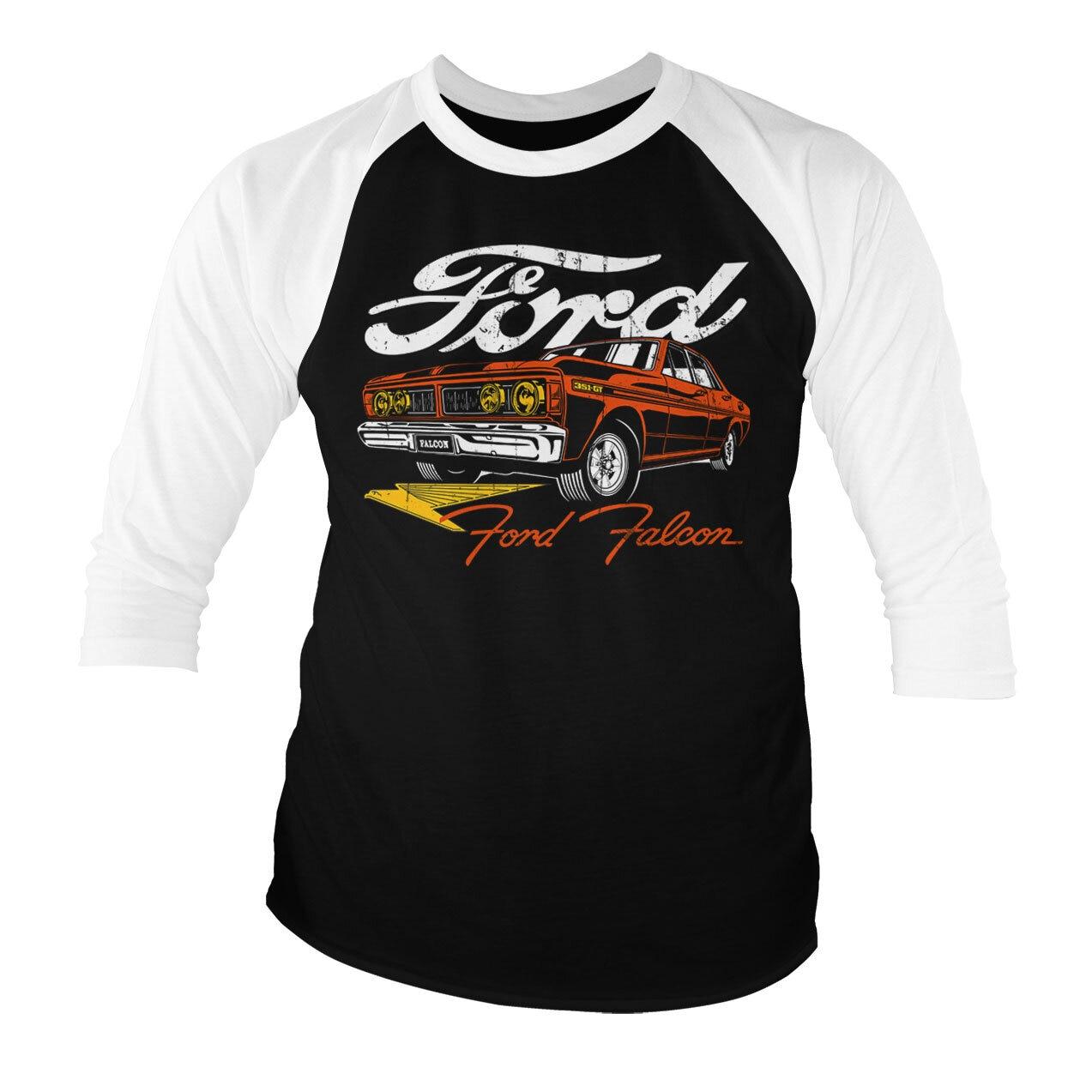 Ford Falcon Baseball 3/4 Sleeve Tee