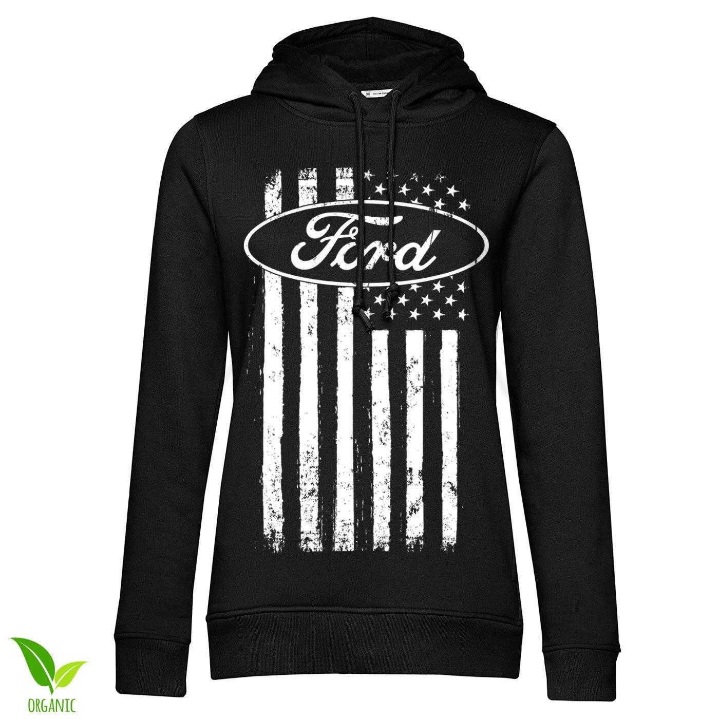 Ford American Flag Girls Hoodie