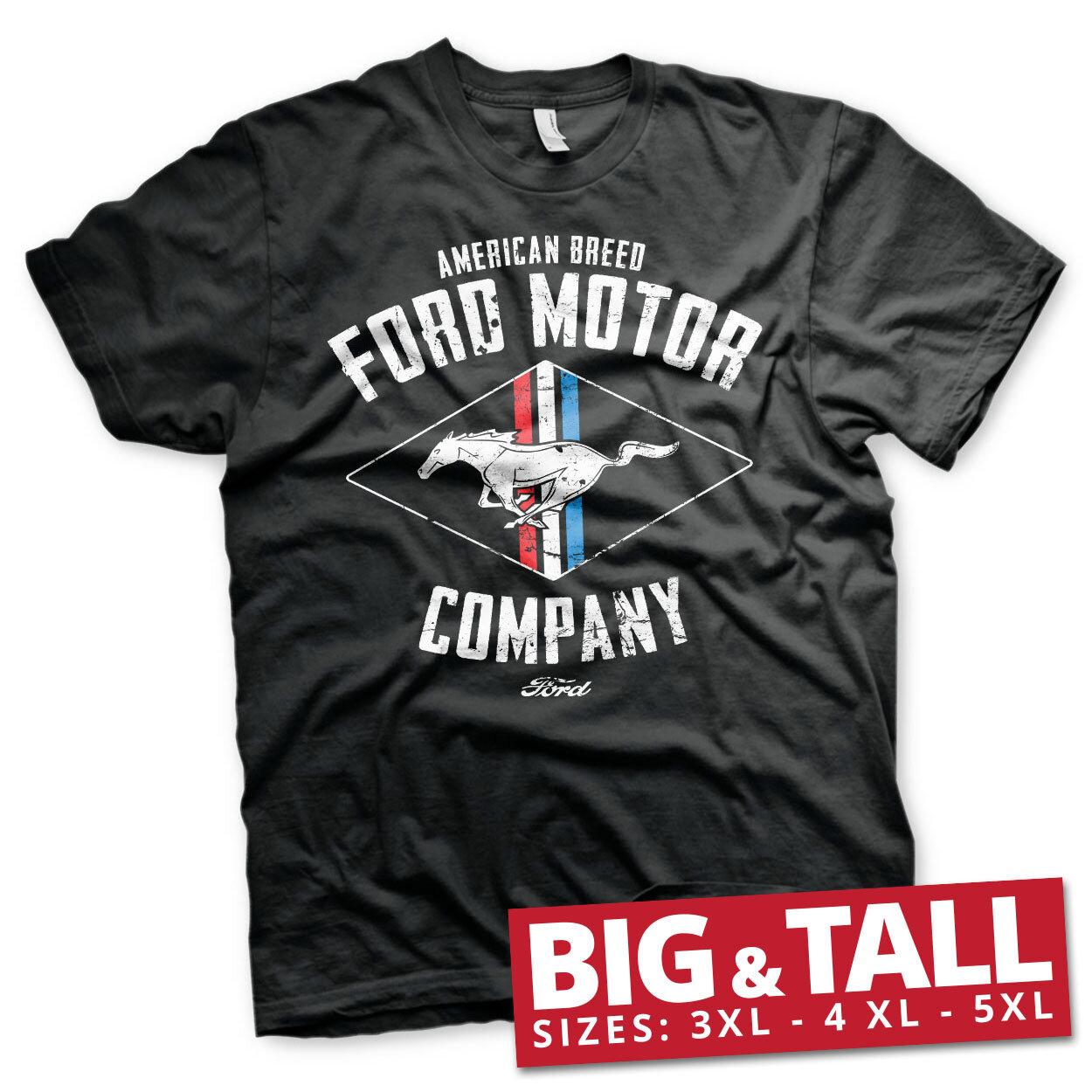 Ford Motor - American Breed Big & Tall T-Shirt