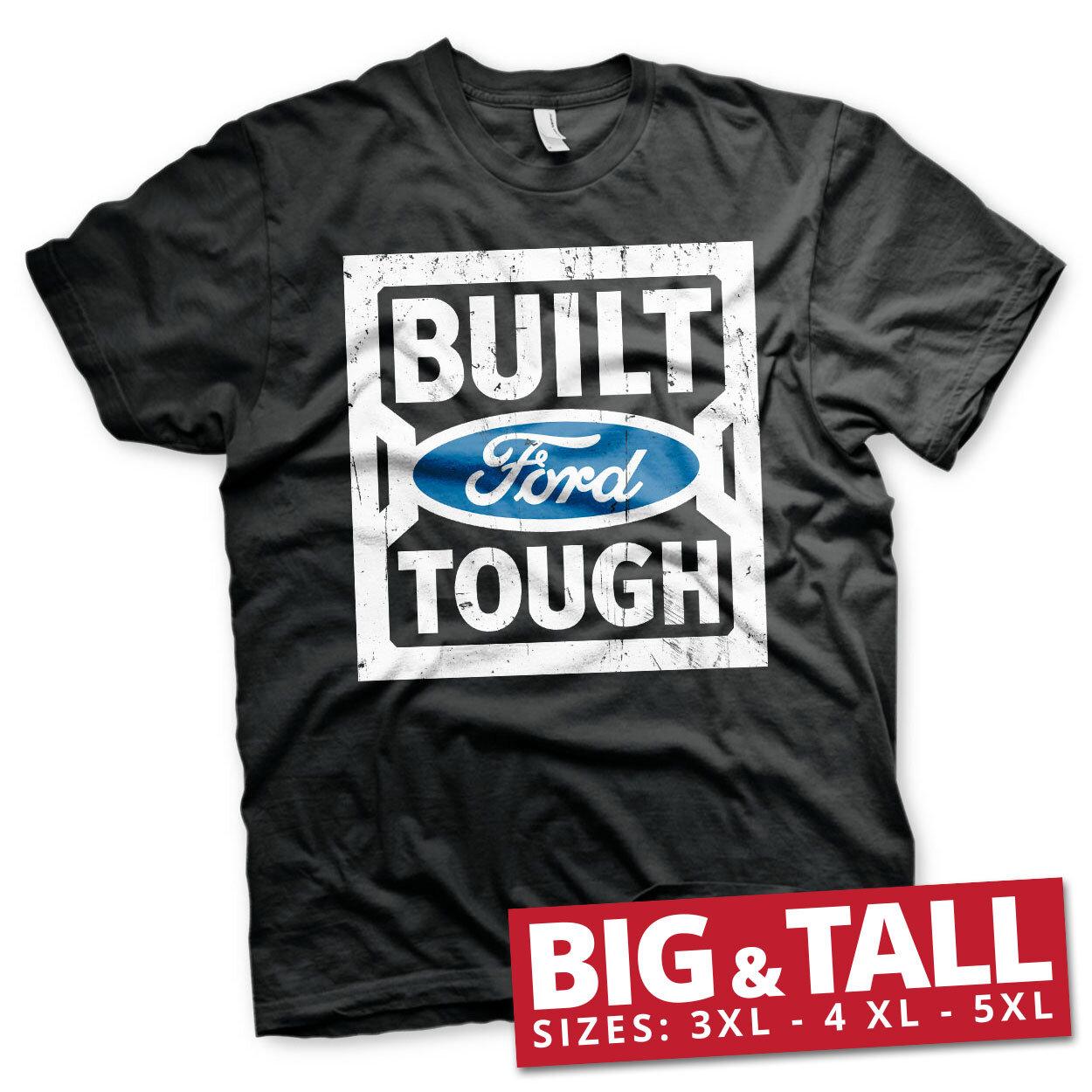 Ford - Built Tough Big & Tall T-Shirt