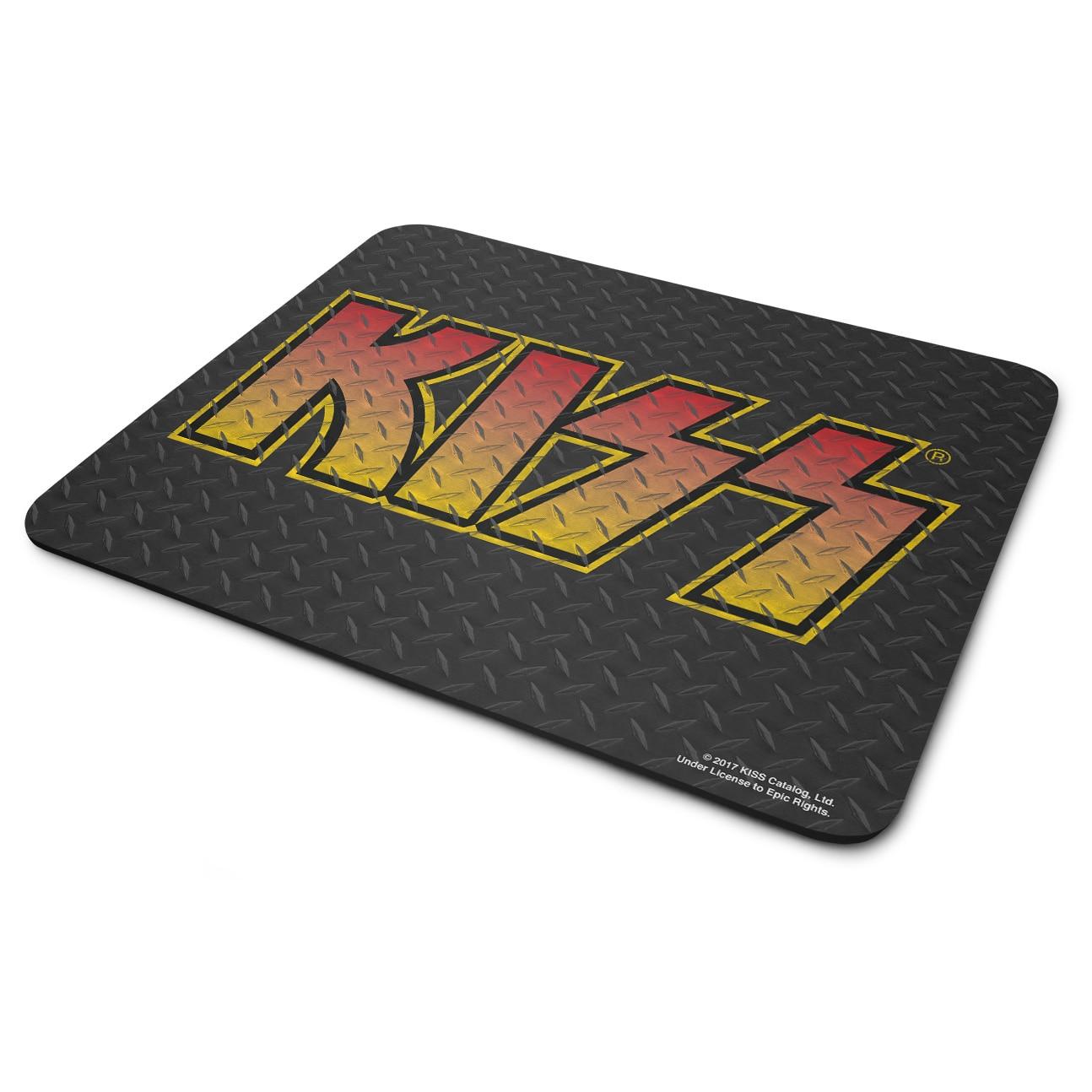 KISS Diamond Plate Logo Mouse Pad 3-Pack