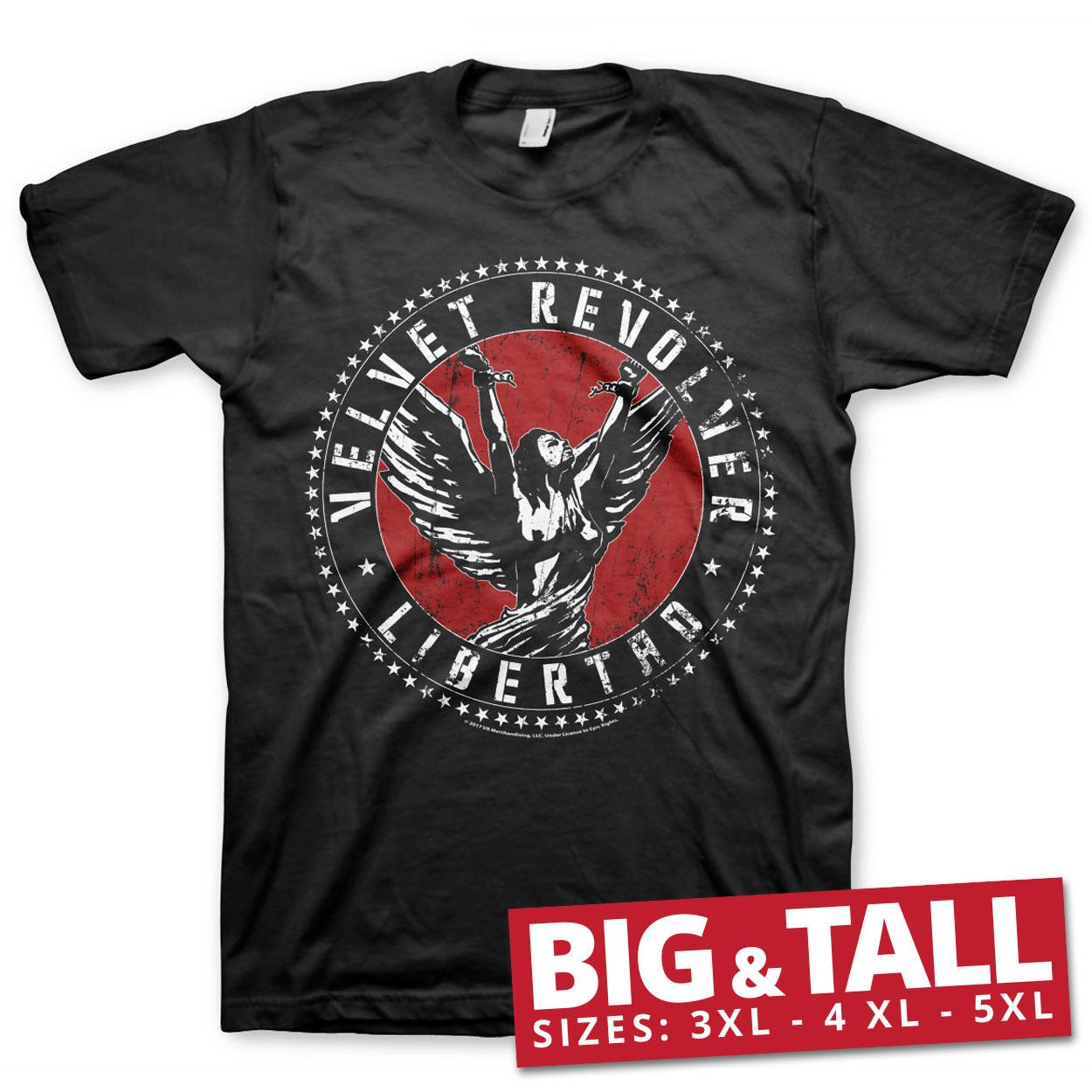 Velvet Revolver Libertad Big & Tall T-Shirt