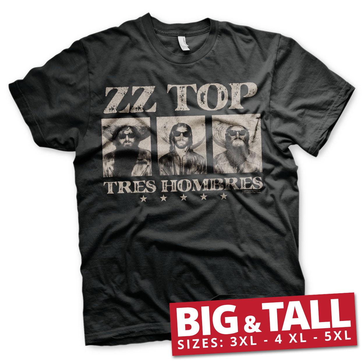 ZZ-Top - Tres Hombres Big & Tall T-Shirt