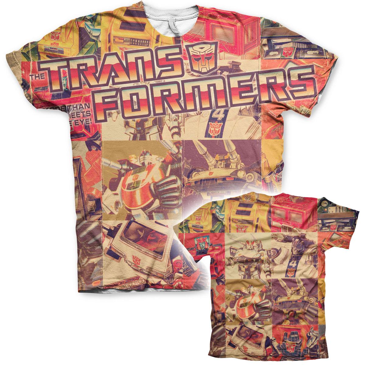 Retro Transformers Allover T-Shirt
