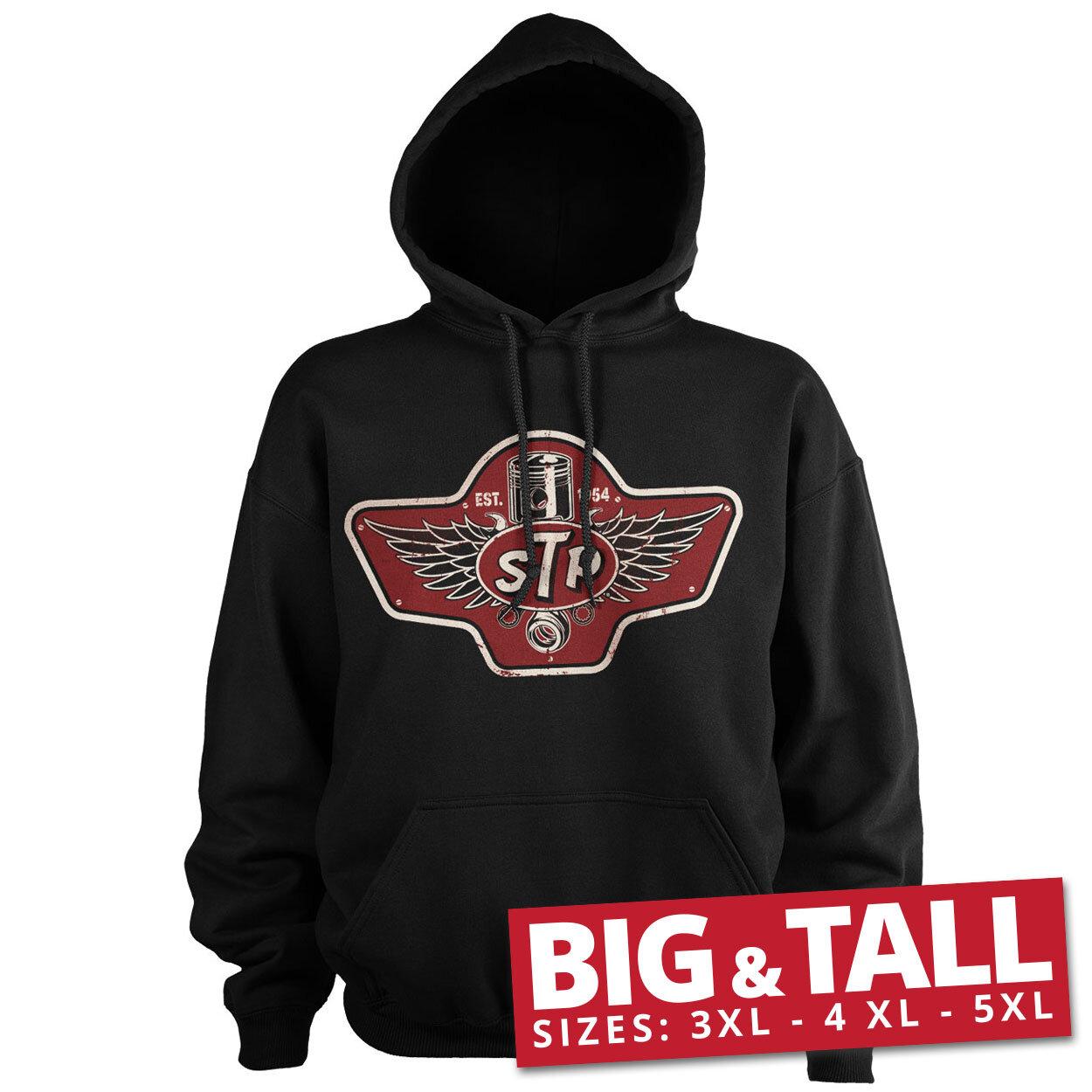 STP Piston Emblem Big & Tall Hoodie