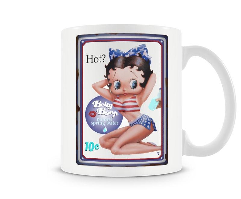 Betty Boop HOT Coffee Mug