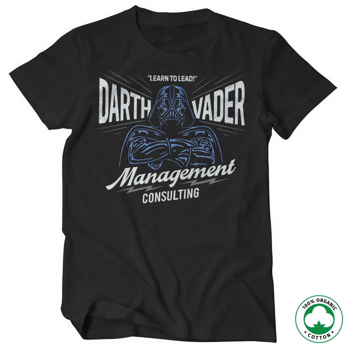 Darth Vader Management Consulting Organic Tee