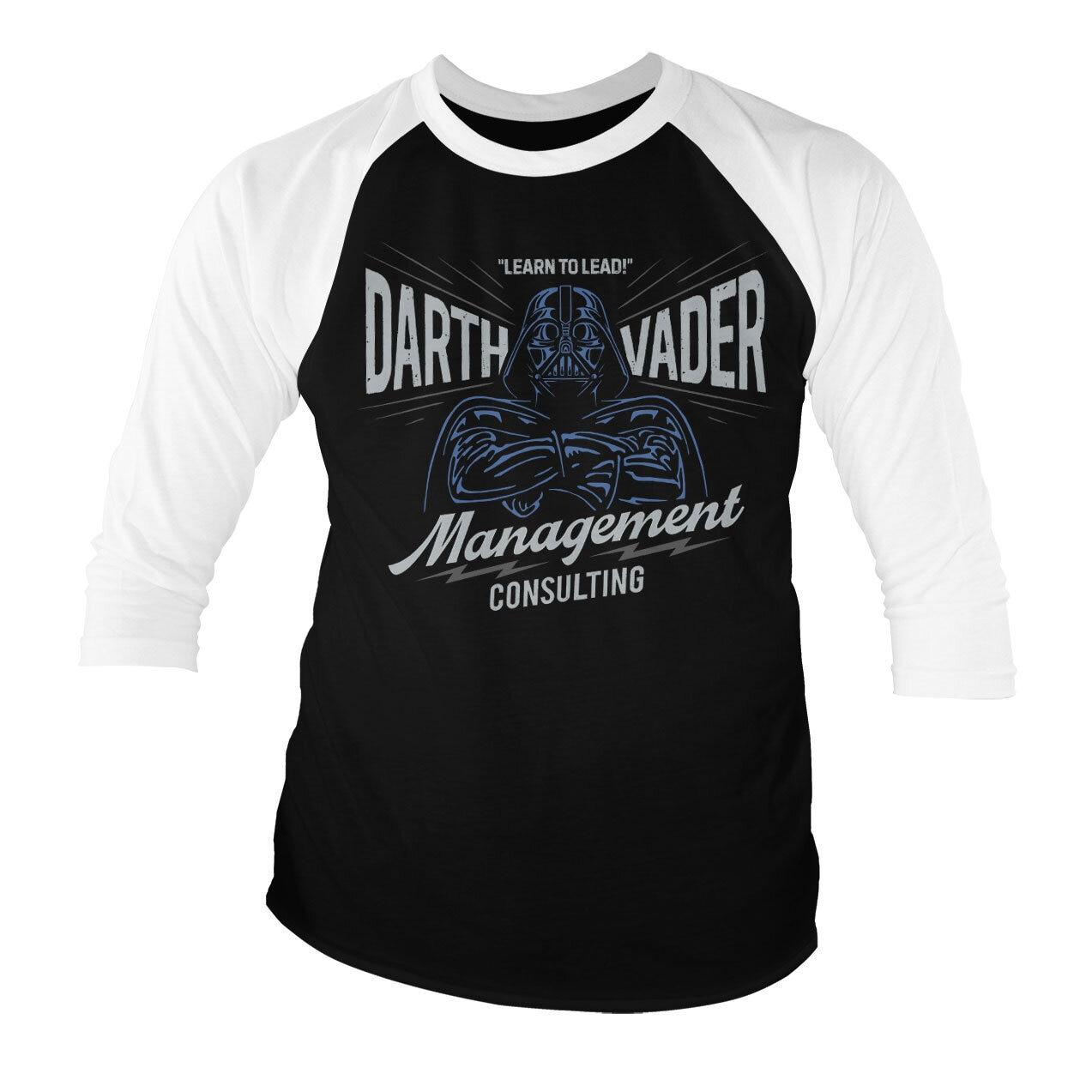 Darth Vader Management Consulting Baseball 3/4 Sleeve Tee