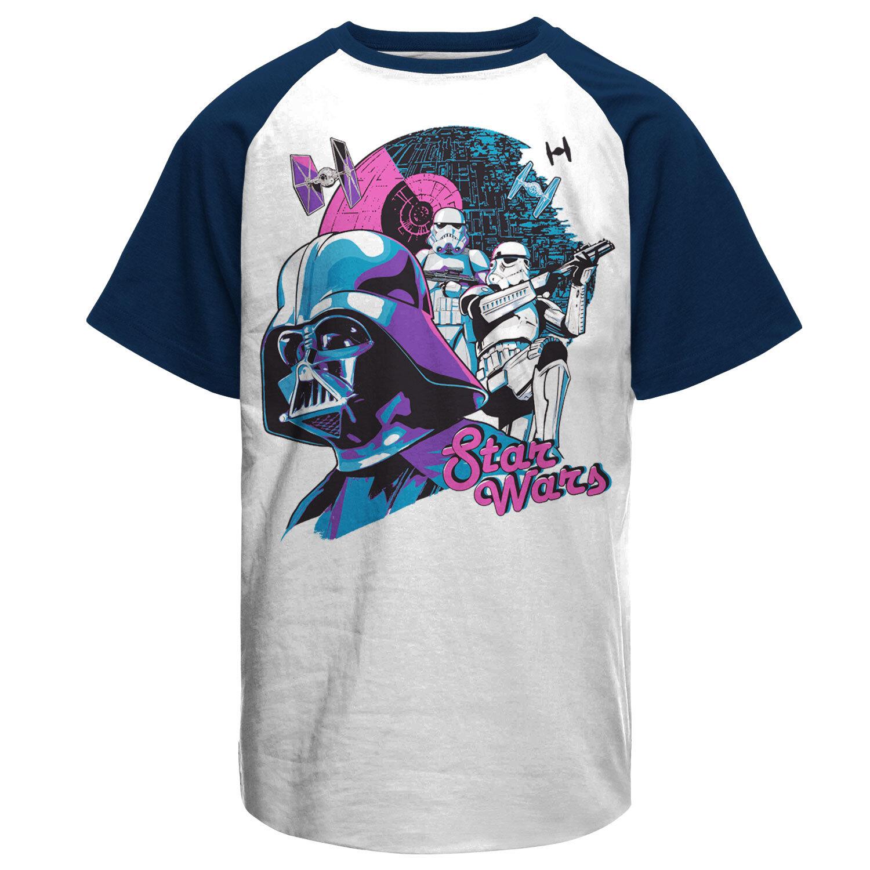 Star Wars - Colorful Death Baseball T-Shirt
