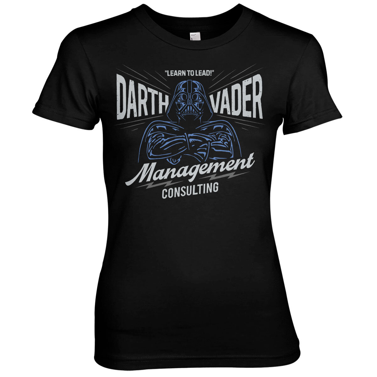 Darth Vader Management Consulting Girly Tee