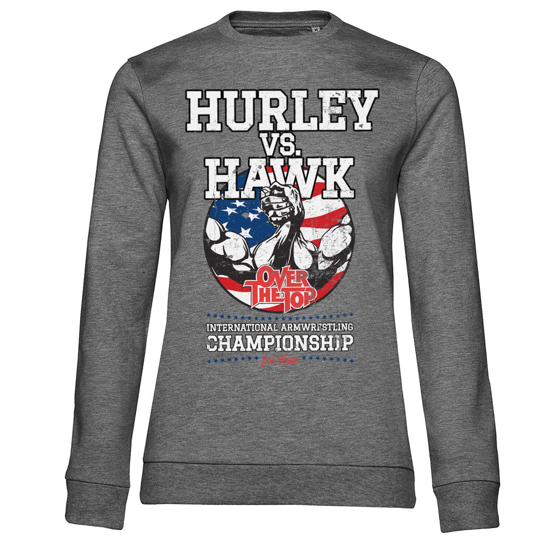 Hurley Vs. Hawk Girly Sweatshirt