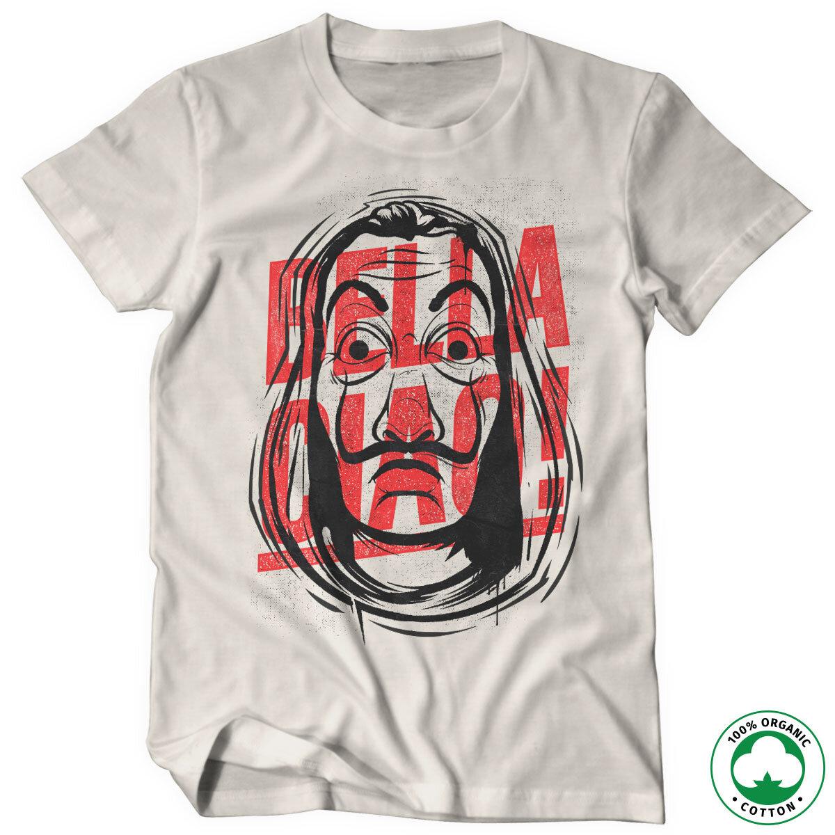 Masked Bella Ciao Organic T-Shirt