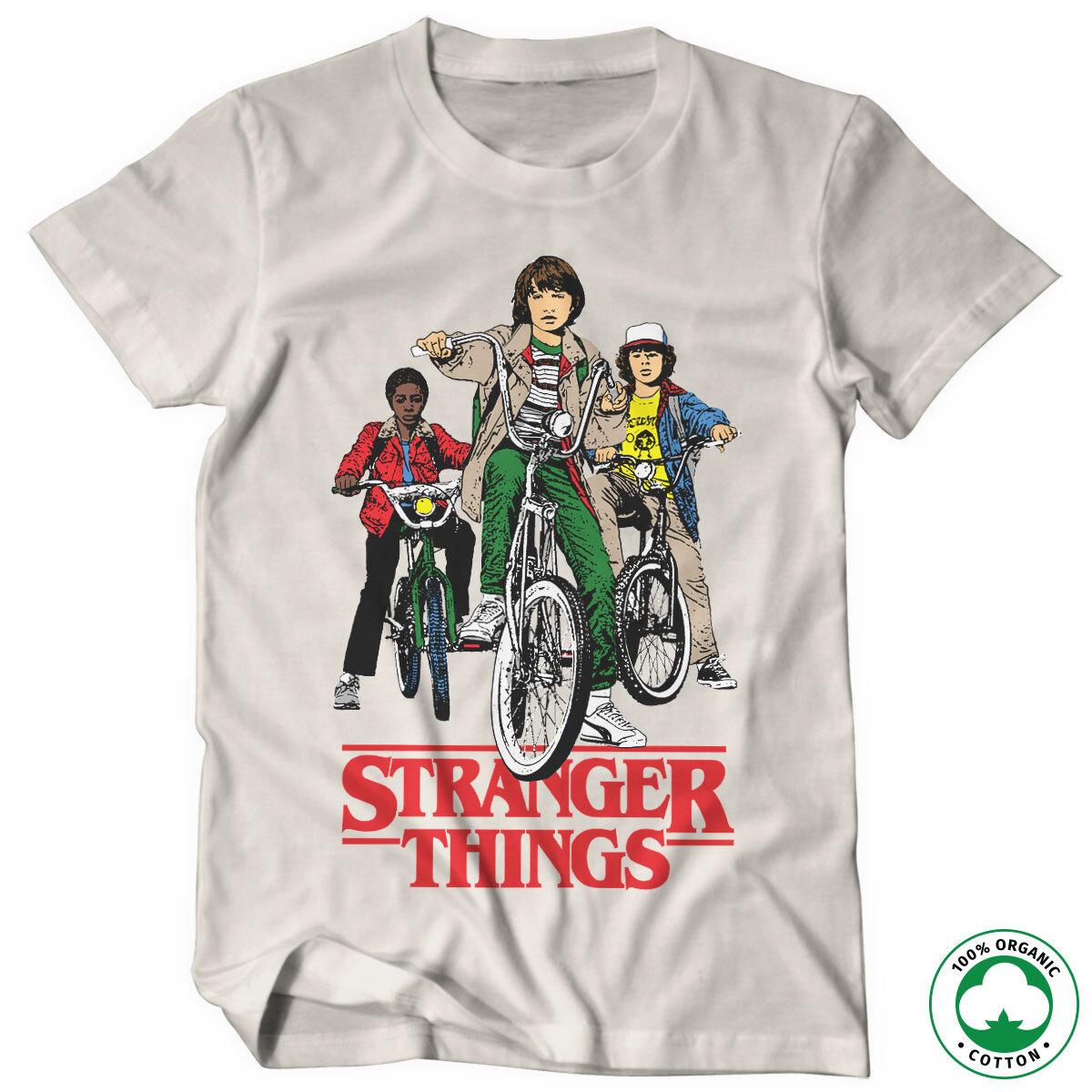 Stranger Things Bikes Organic T-Shirt