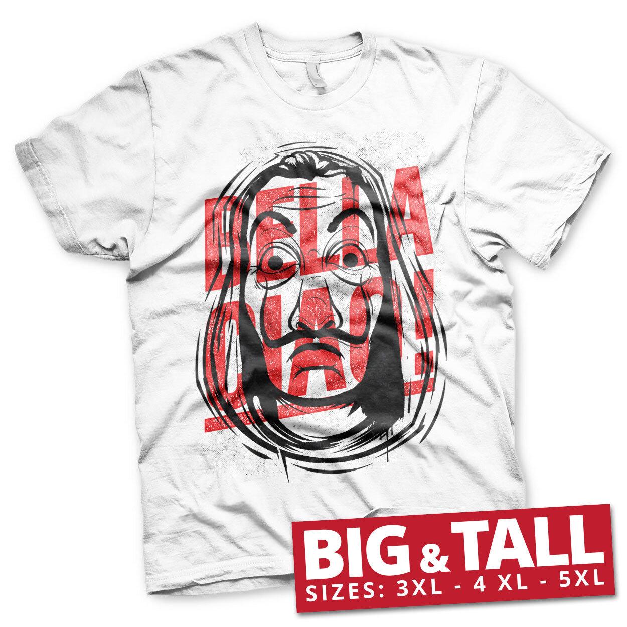 Masked Bella Ciao Big & Tall T-Shirt
