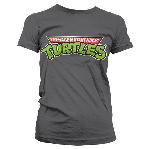 TMNT Classic Logo Girly T-Shirt
