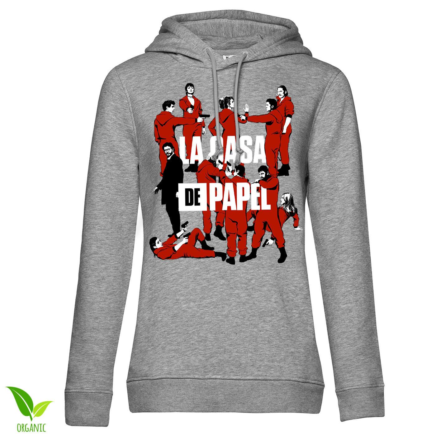 La Casa De Papel - La Pandilla Girls Hoodie