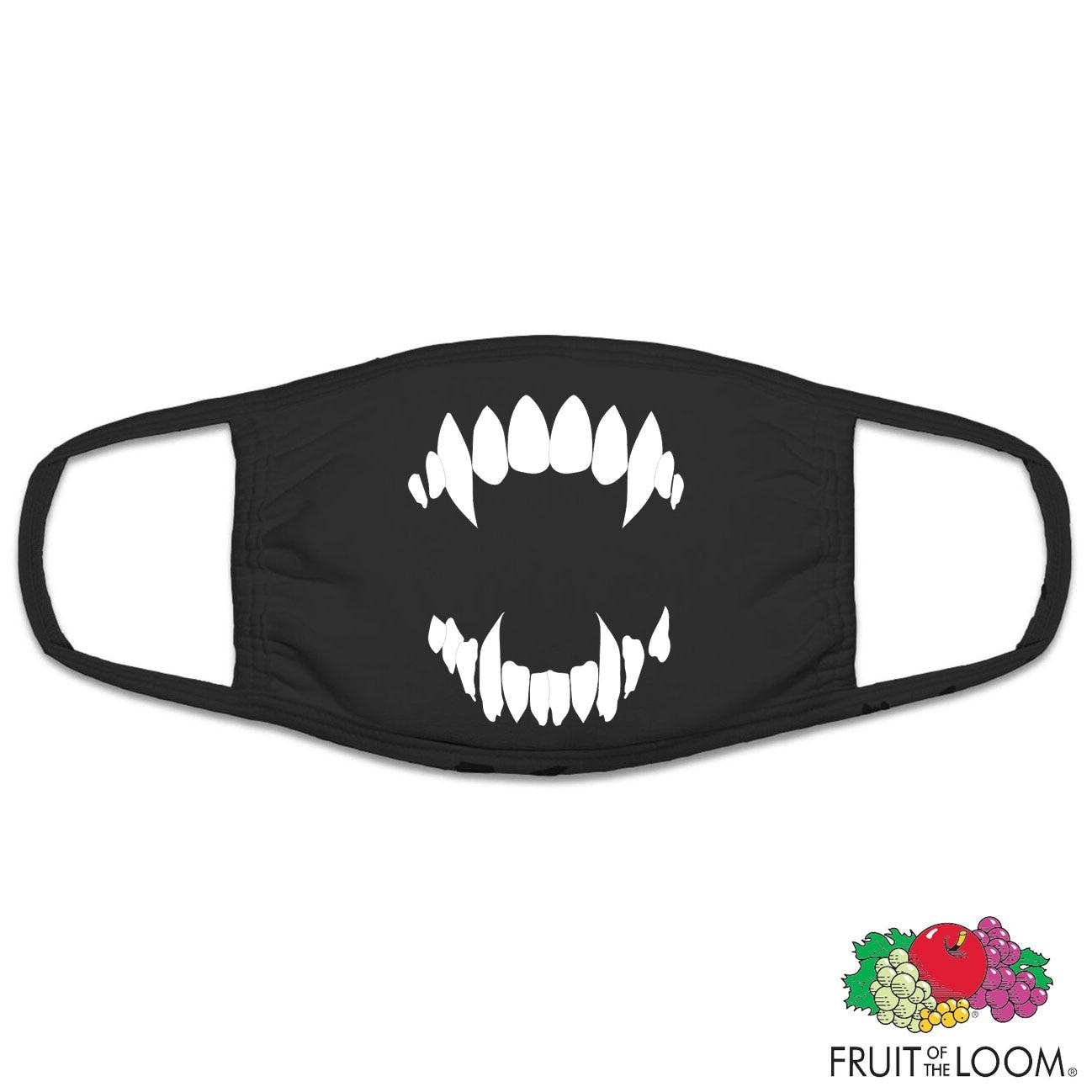 Dracula Teeth Face Cover