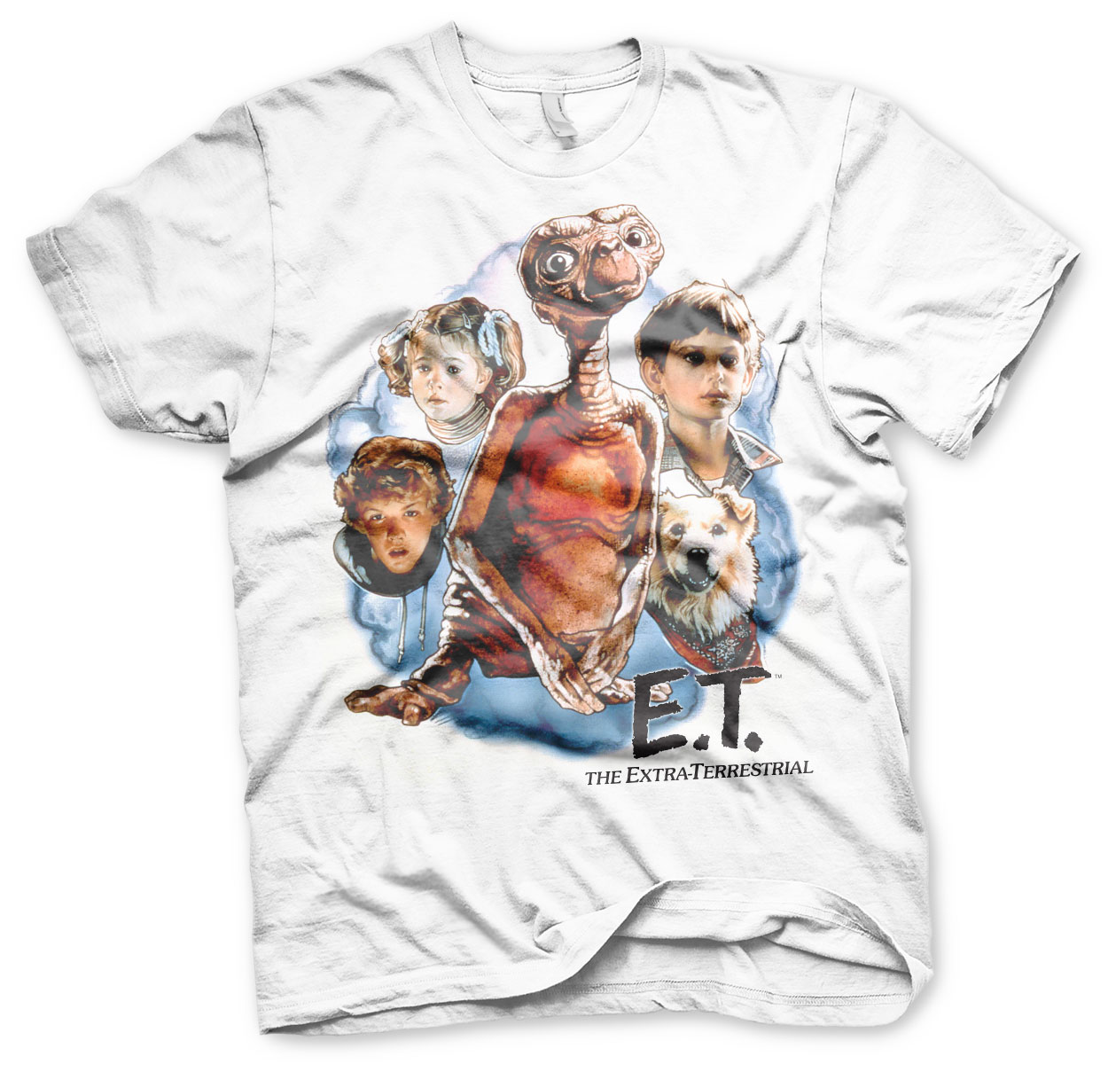 E.T. Retro Poster T-Shirt