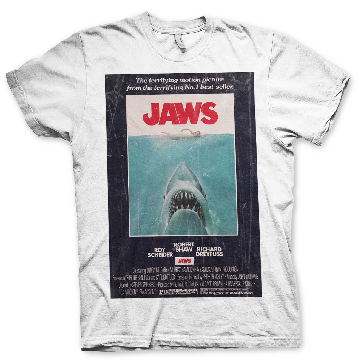 Jaws Vintage Original Poster T-Shirt