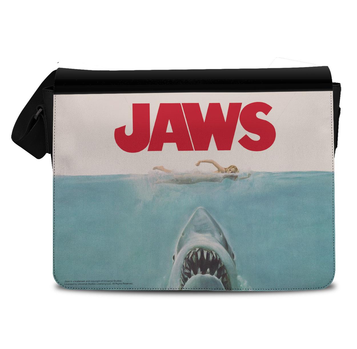 JAWS Poster Messenger Bag