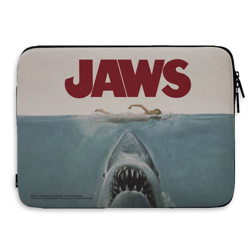 JAWS Poster Laptop Sleeve