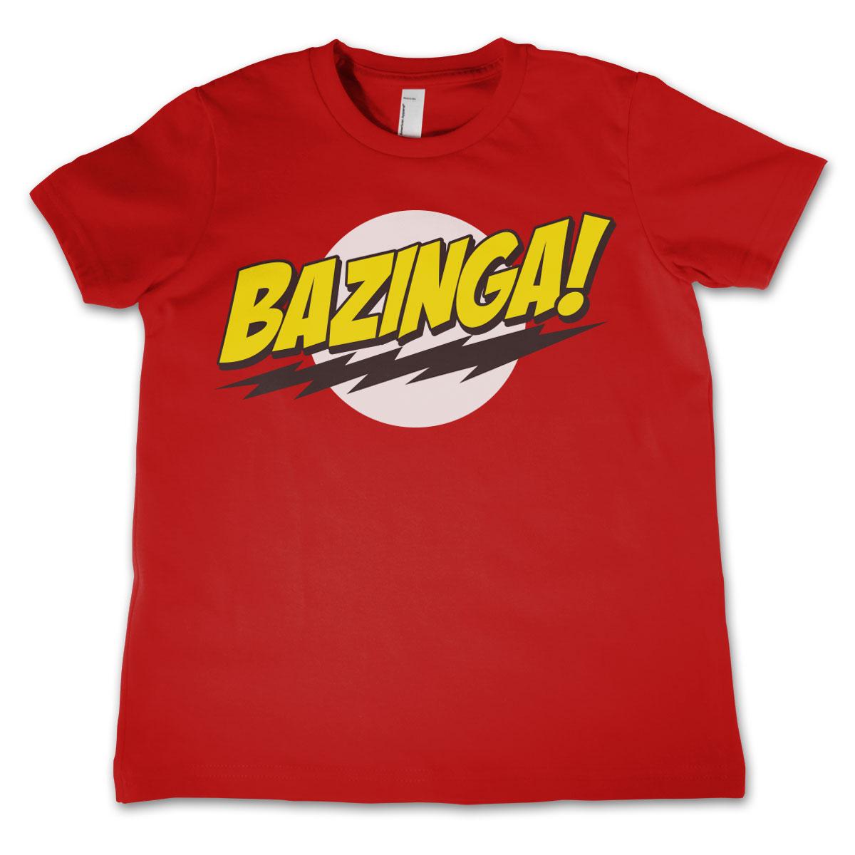Bazinga Super Logo Kids T-Shirt