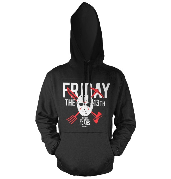 Friday The 13th - The Day Everyone Fears Hoodie