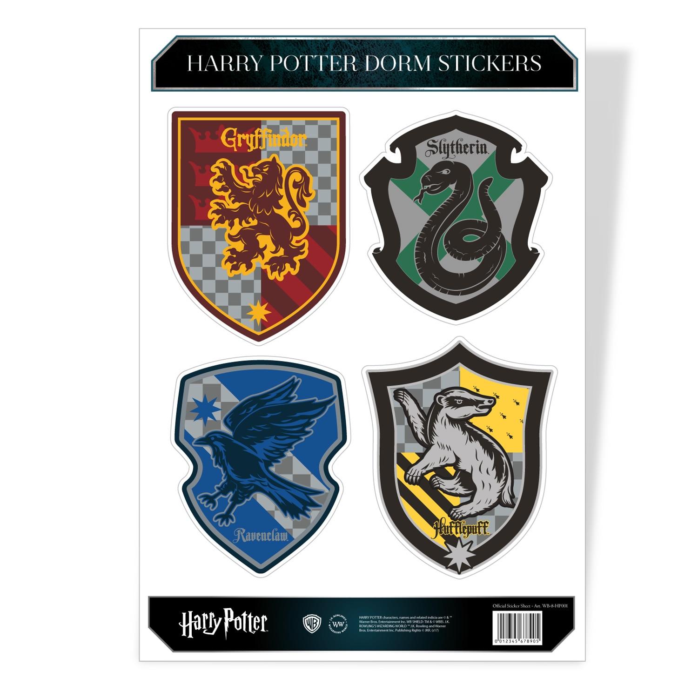 Harry Potter Dorm Sticker Set