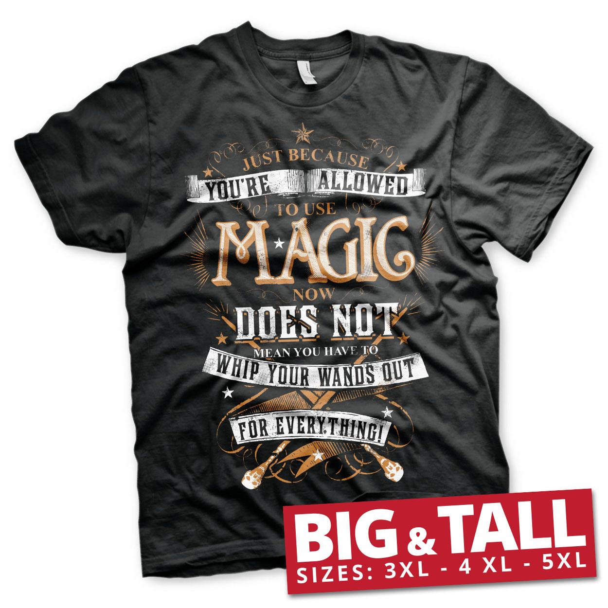 Harry Potter Magic Big & Tall T-Shirt