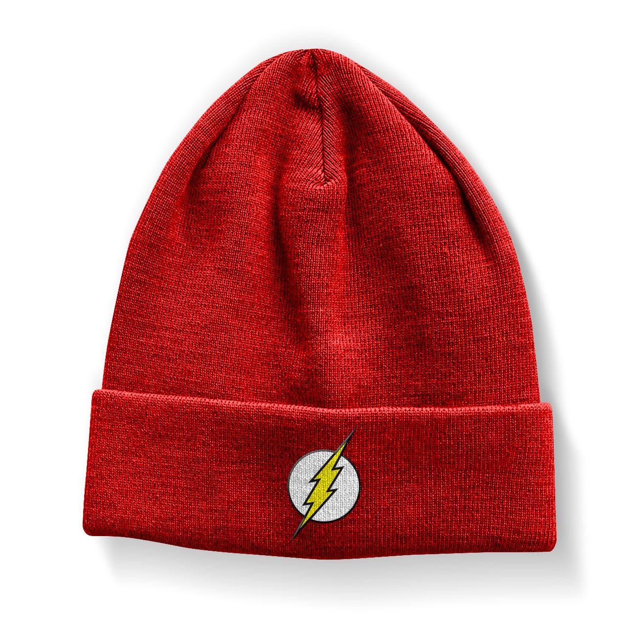 The Flash Logo Beanie